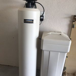 Water Softener with filter